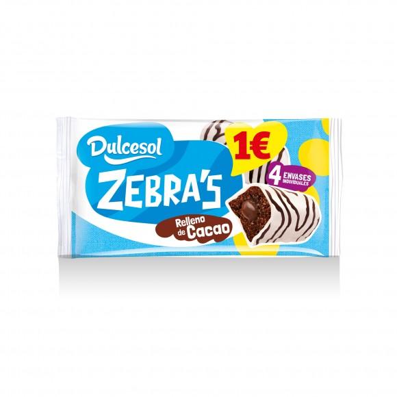 Bombón zebra 4u