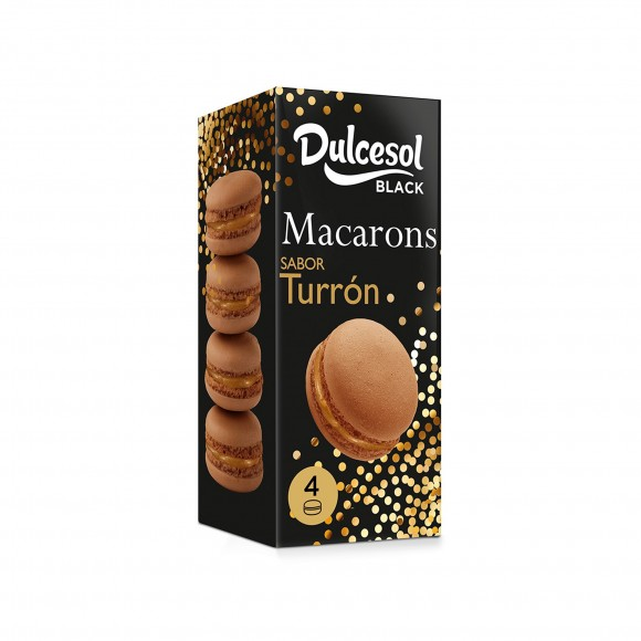 Macarons turrón