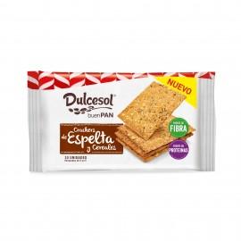Crackers de Espelta y Cereales