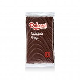 Cuadrados trufa al cacao