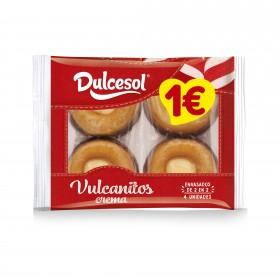 Vulcanitos crema 4u